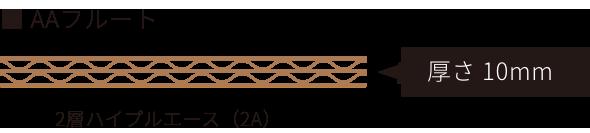 2層ハイプルエースの側面(厚さ10mm)